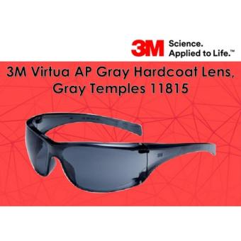1 pc 3M Virtua AP Gray Hardcoat Lens, Gray Temples 11815