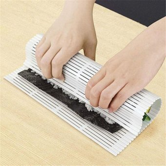 1 PC New DIY Easy Sushi Roller Pad Plastic Mat Makers Magic CookingHome Kitchen Tool - intl Price Philippines