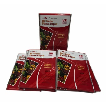 10 Packs of Cuyi RC Satin Photo Paper 4R 260G