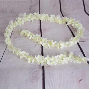 10 Pcs Rattan Strip Wisteria Artificial Flower Vine For Wedding Party - intl - 2