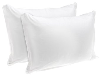 100% Cotton Hypoallergenic Pillow (Set of 2) (60x40cm)