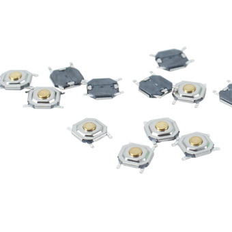100 Pcs Momentary Pushbutton Microswitch Tactile Tact Switch Replacement Parts - Intl - 4