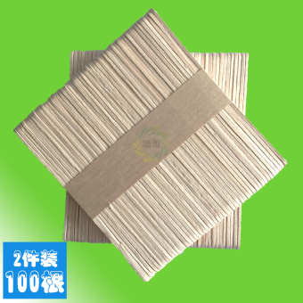 100 root ice cream stick popsicle stick disposable ice cream Mold