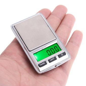 100*0.01g/500*0.1g Mini Digital Scale - 2