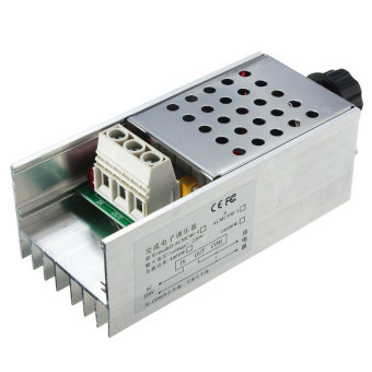 10000W SCR Voltage Regulator Speed Controller Dimmer Thermostat AC 220V - intl