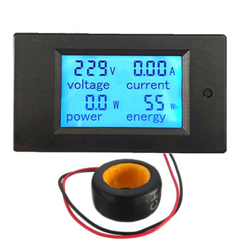 100A AC Digital LED Power Panel Meter Monitor Power Energy