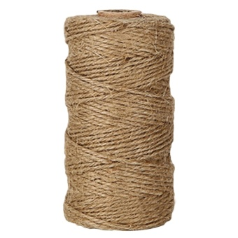 100m DIY Crafts Natural Jute Twine Rope for Photo DisplayingScrapbooking Gift Packaging Festive Decoration GardeningApplications - intl