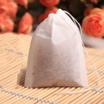 100pcs Empty Teabags String Heat Seal Filter Paper Herb Loose Tea Bags Cheap Price hot selling - intl