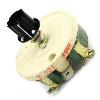 100W 100 Ohm Ceramic Wirewound Potentiometer Rotary Resistor Rheostat - Intl - 3
