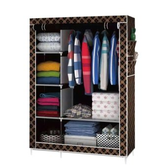 105 Fashion Wardrobe Closet (Brown)