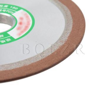 10CM Grit150 Plain Resin Diamond Grinding Wheel Silver - 5