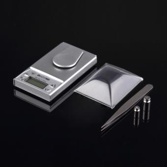 10g*0.001g LCD Digital Electronic Pocket Gram Jewelry Weight Balance Scale
