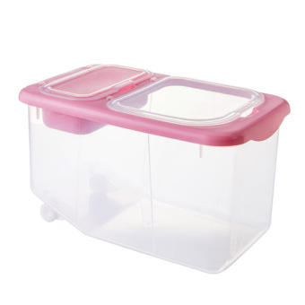 10kg plastic kitchen rice storage box rice box Price Philippines