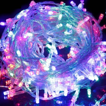10M 100 LED Christmas Tree Fairy String Party Lights Lamp Xmas Waterproof - intl