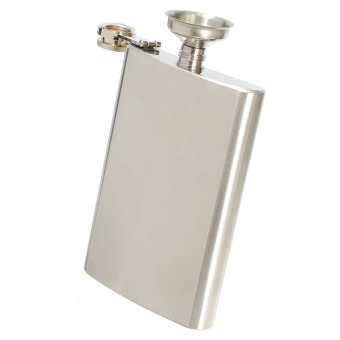 10oz Liquor Alcohol Hip Whiskey Flask with Matching + Funnel