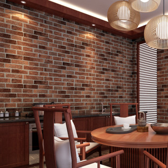 10Pcs Rustic Brick Effect Rock Stone Textured Wall Sticker Paper Coffee Price Philippines