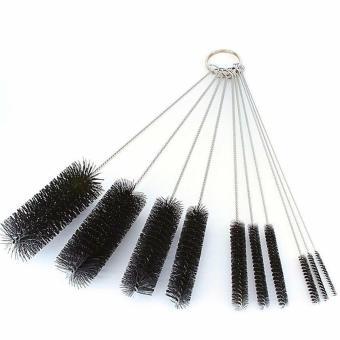 10pcs Test Tube Cleaning Brush Bottle Straw Washing Cleaner BristleKit Tool set - 3
