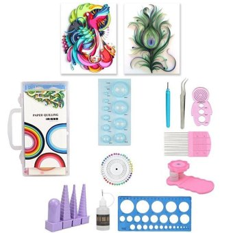11 Pcs Paper Quilling Tool Kit Paper Craft DIY Tool - intl