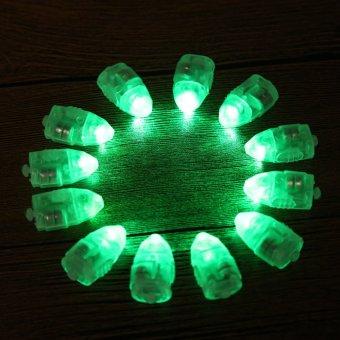 12 Balloon Light Lamps Green Party Wedding Birthday Chrismas Decor - Intl - picture 2