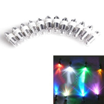 12 Pcs Color Changing Party Lights Waterproof Light for Balloon Paper Lantern Wedding