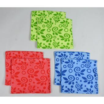 12 Pieces Cannon Hand Towels (Leaf Design) - 3