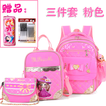 12 Princess girl's children's shoulder bag young student's school bag