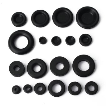 125Pcs Rubber O Ring Assortment Set Hydraulic Plumbing Gasket Paintball Seal Kit