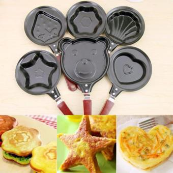 12cm Mini Non Stick Frying Pan (Assorted Design) Set of 5