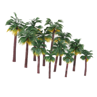 12pcs Layout Model Train Palm Trees Rain Forest Scale 1:65-1:150 Price Philippines