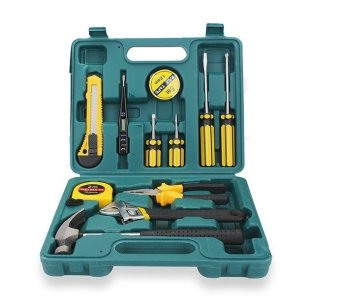 12pcs Professional Hardware Tools Set Accessory Repair Home Tool-Box Kits Case