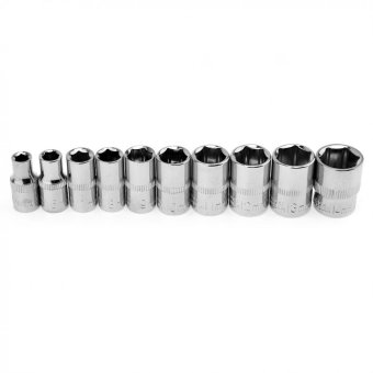 12pcs / set Socket Wrench 1 / 4 inch Ratchet Wrench Set 100mmConnecting Rod 4-13mm Sockets Hand Tools - intl - 5