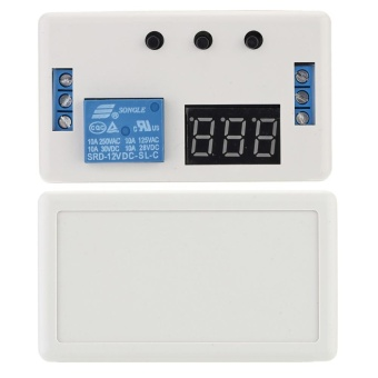 12V Automation Delay Timer Control Switch Relay Module with Case -intl