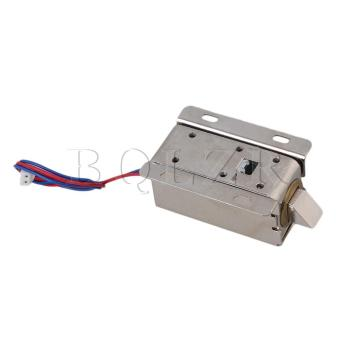 12V Electric Lock Assembly Solenoid (Silver) - picture 2