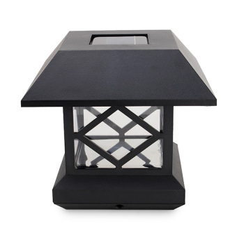 1.2V Garden Lawn Solar White LED Pillar Lamp Outdoor Cottage yardFence Light - intl - 4