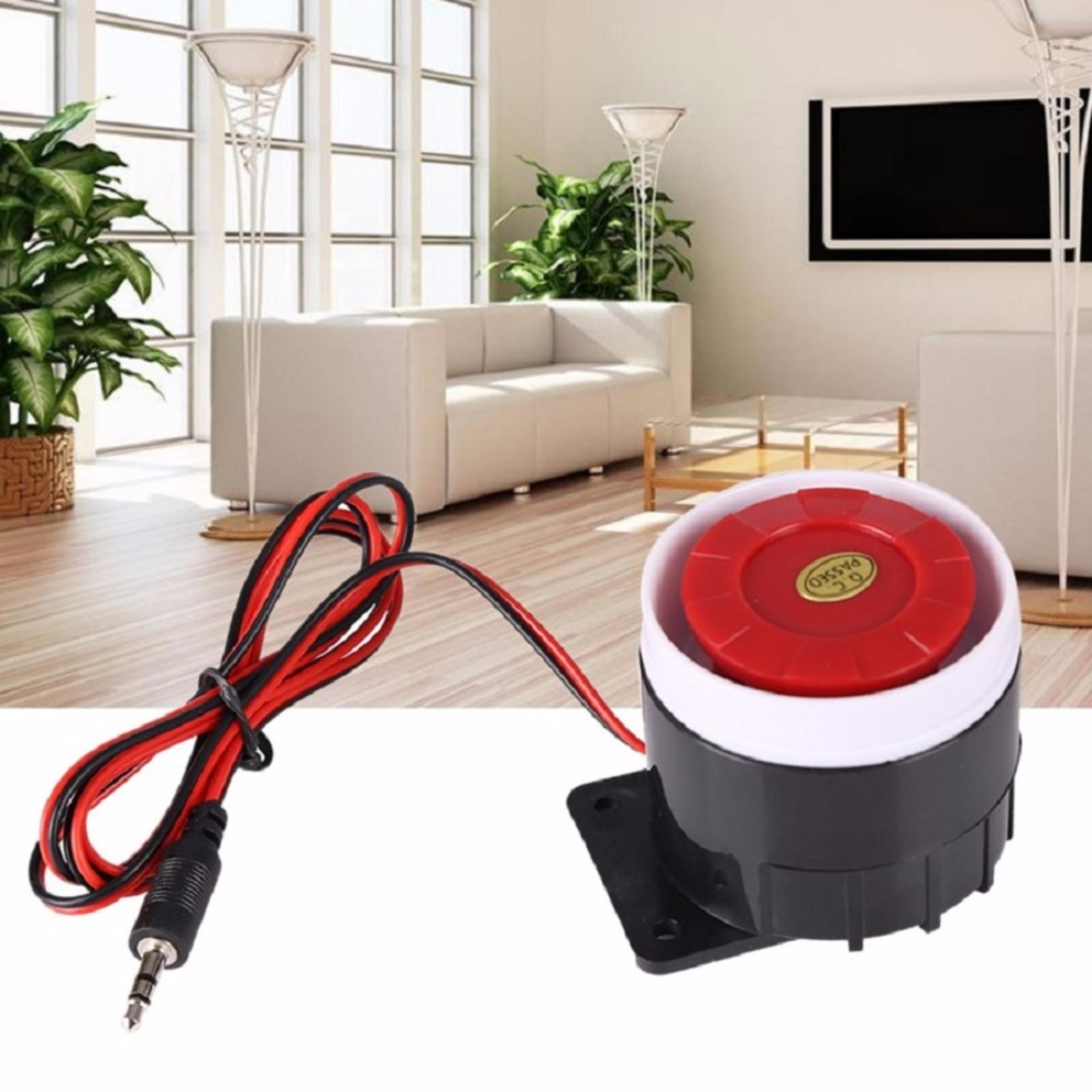 12V Wired Siren Mini Horn Sound Alarm 120dB for Home Office Living Room Bedroom Security System Philippines