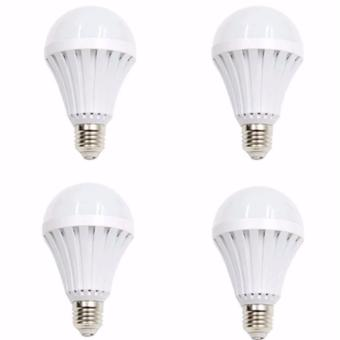 12W Intelligent Water Power Emergency Magic Light Bulb Set of 4