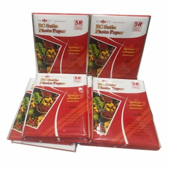 15 Packs of Cuyi RC Satin Photo Paper 5R 260G
