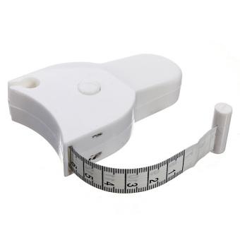 1.5M 60'' Fitness Accurate Body Tape Ruler Measure Body Fat Caliper Measuring - 2
