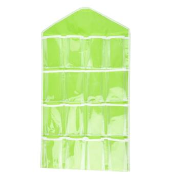 16 Pockets Clear Closet Organizer for Socks Bra UnderwearAccessories