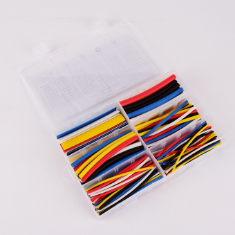 180PCS 2:1 9cm PVC Heat Shrinkable Tubing Wire Cable Sleeve 6 ...
