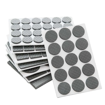 186Pcs Furniture Felt Pad Environmental-friendly PP Self-adhesiveNon-slip Floor Scratch Protector Mat for Table Chair Phone CabinetBed Sofa Bottom Leg Feet - intl