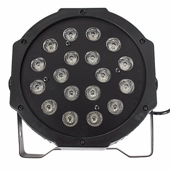 18W Rgb Led Stage Lighting Flat Par Laser Projector Party