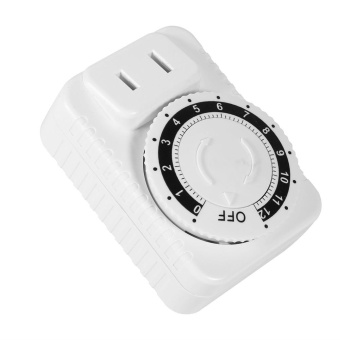 1Pc 12 Hour Electrical Mechanical Time Wall Plug Switch Digital Countdown Timer Socket Hot - intl