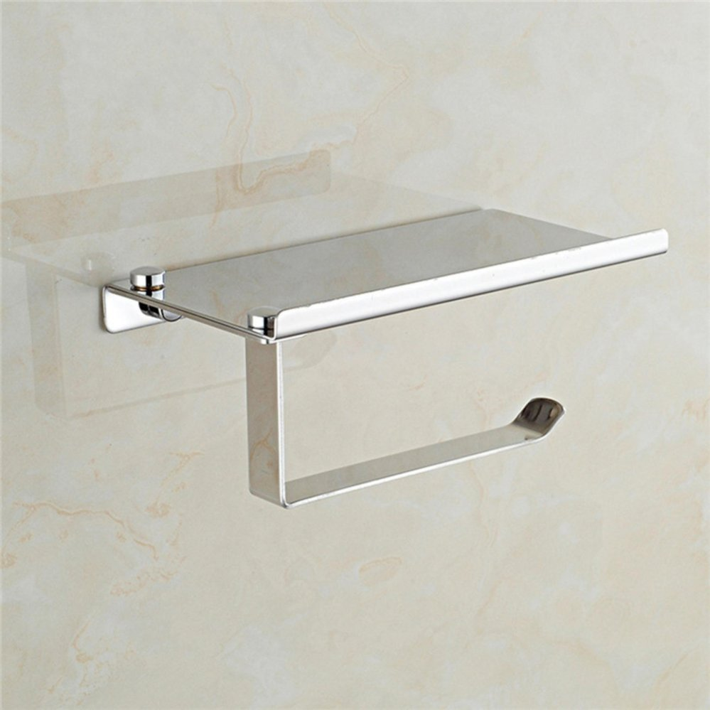 Philippines   1Pc Stainless Steel Roll Towel Tissue Paper Holder ...