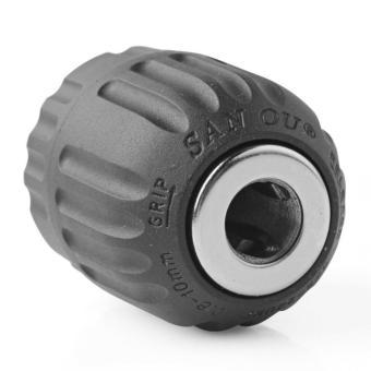 1pcs Keyless Drill Chuck Air/Electric/Cordless 1/32 - 3/8 in 24 UNF0.8 - 10 mm Quick - intl - 4