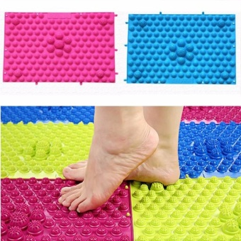 1pcs Large Acupuncture Foot Massager Therapy Mat Foot Massage Pad - intl