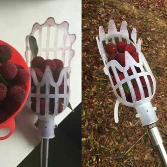 1Piece Gardening Picking Tools Plastic Fruits Picker without Pole Fruits Catcher - intl - 4