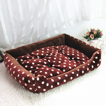 1xPiece Four Seasons Universal Pet Bed Dog / Cat (Coffee XL)