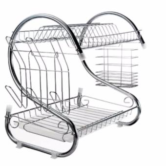 2 Layer Dish Drainer / Kitchen Rack
