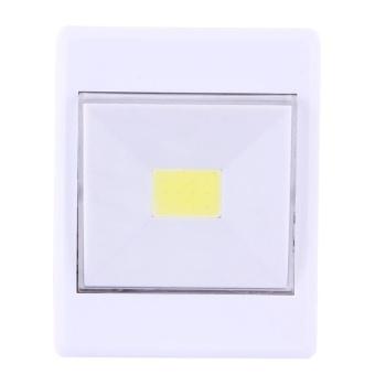 2 PCS Mini White Light COB LED Switch Wall Light Night Light LampCloset Light - intl - 3